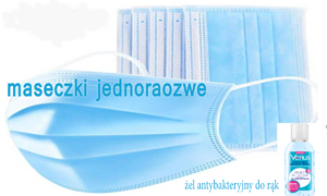 Jednorazowe maseczki ochronne - chrońmy się przed koronawirusem