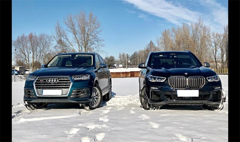 BMW X7 M50D VS. AUDI SQ7