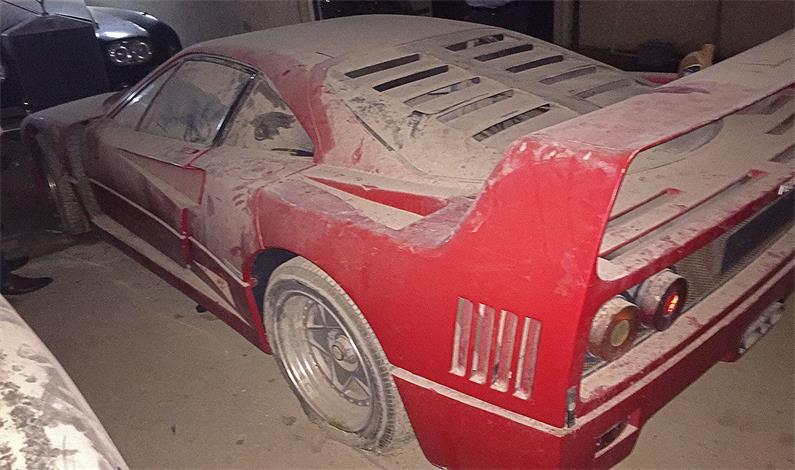 Ferrari F40 znaleziony w Iraku