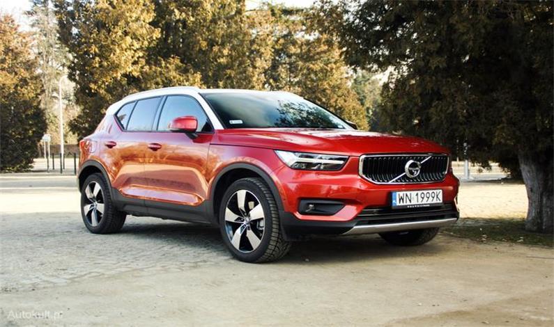 Volvo XC40 – wersje silnikowe dostępne na...