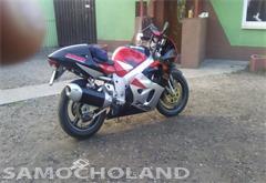 suzuki gsx-r motocykl zadbany
