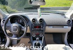 z miasta legnica Audi A3 8P0 LIFT SportBack, 1,9 TDI 105KM Beżowa Skóra, Klimatronic LEGNICA