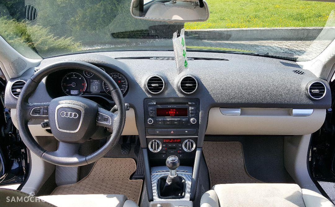 Audi A3 8P0 LIFT SportBack, 1,9 TDI 105KM Beżowa Skóra, Klimatronic LEGNICA 1