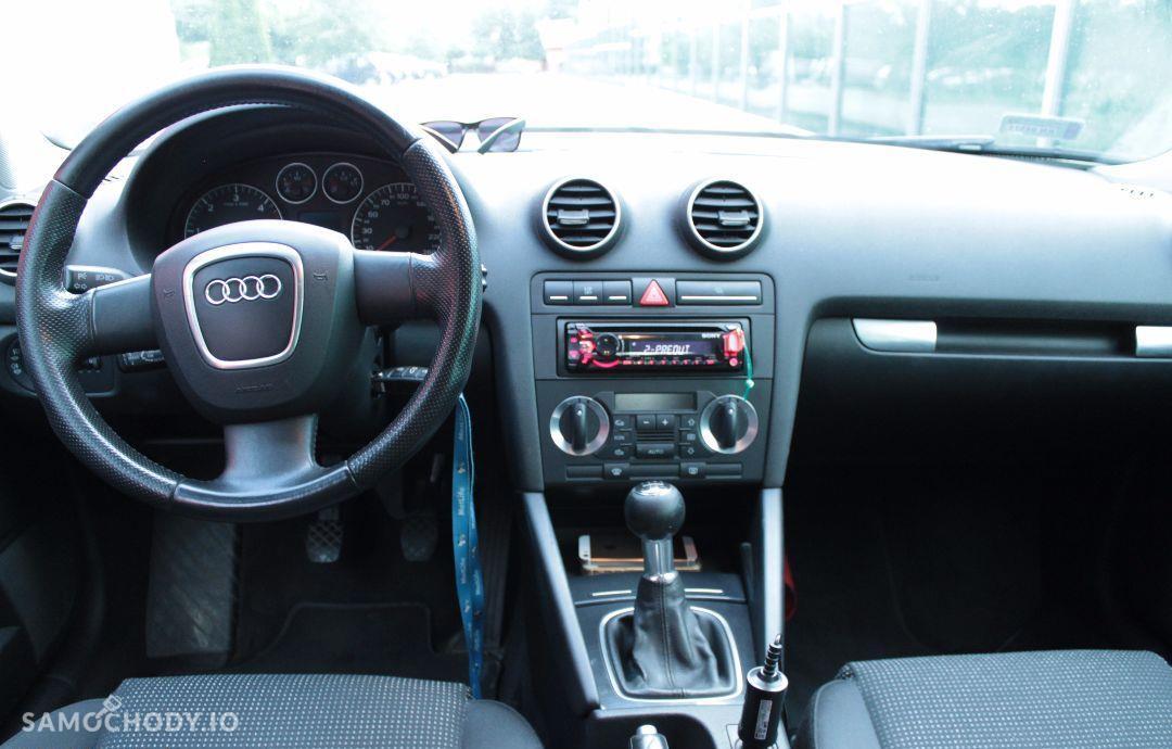 Audi A3 SPORTBACK 1.9TDI / prywatny / grafit perła / nowy dwumas i rozrząd 16