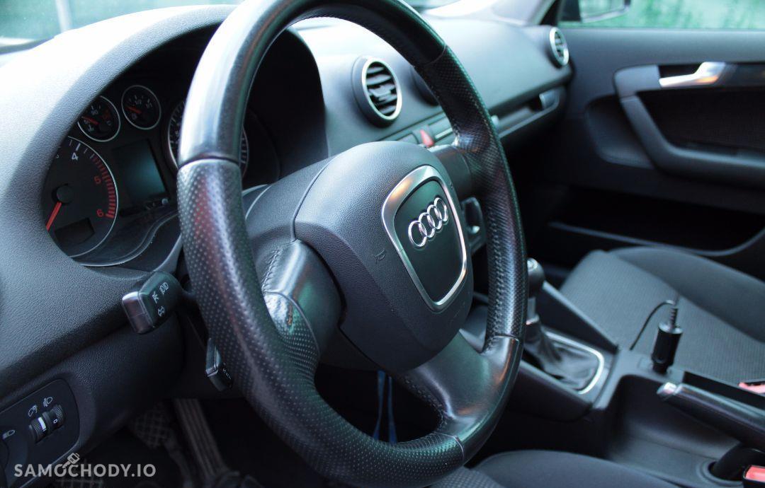 Audi A3 SPORTBACK 1.9TDI / prywatny / grafit perła / nowy dwumas i rozrząd 29