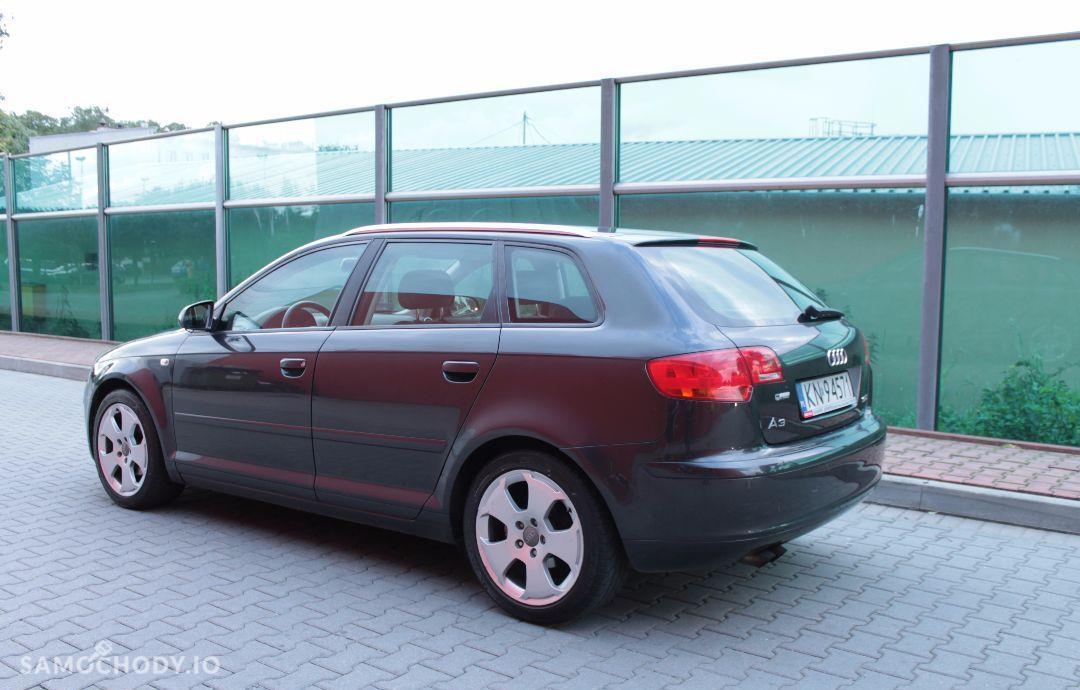 Audi A3 SPORTBACK 1.9TDI / prywatny / grafit perła / nowy dwumas i rozrząd 7