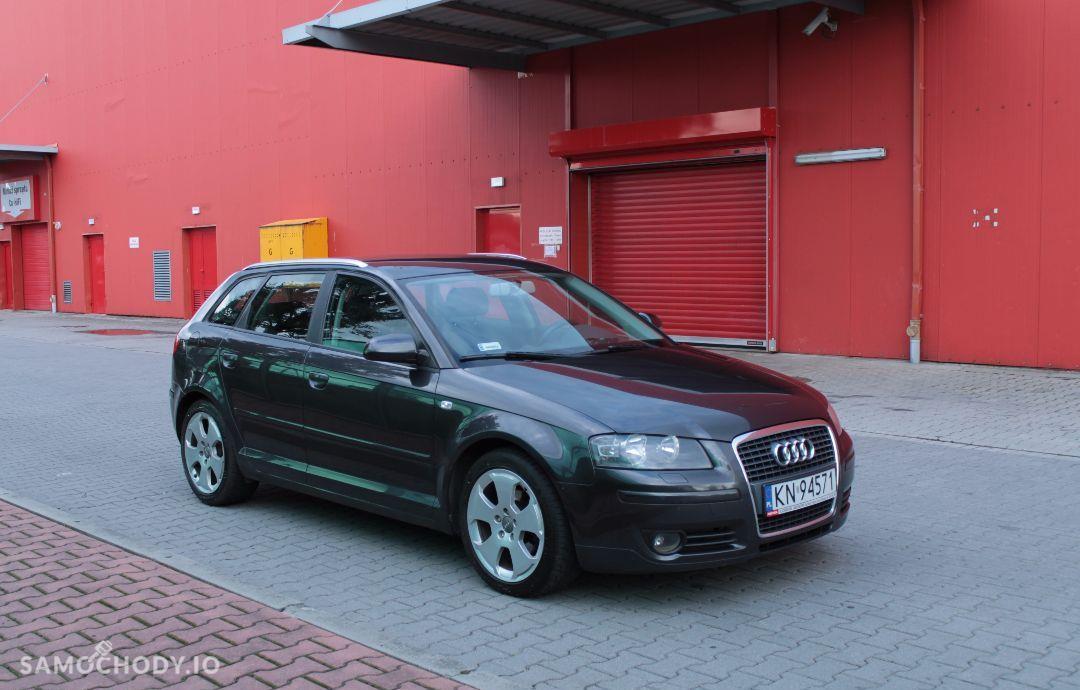 Audi A3 SPORTBACK 1.9TDI / prywatny / grafit perła / nowy dwumas i rozrząd 1