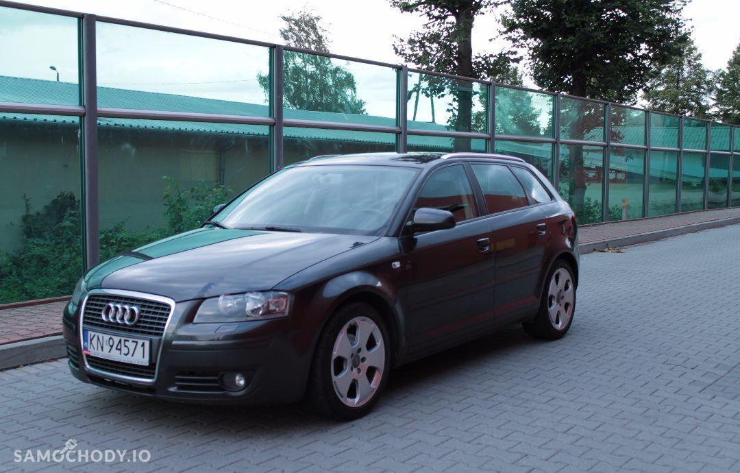 Audi A3 SPORTBACK 1.9TDI / prywatny / grafit perła / nowy dwumas i rozrząd 11