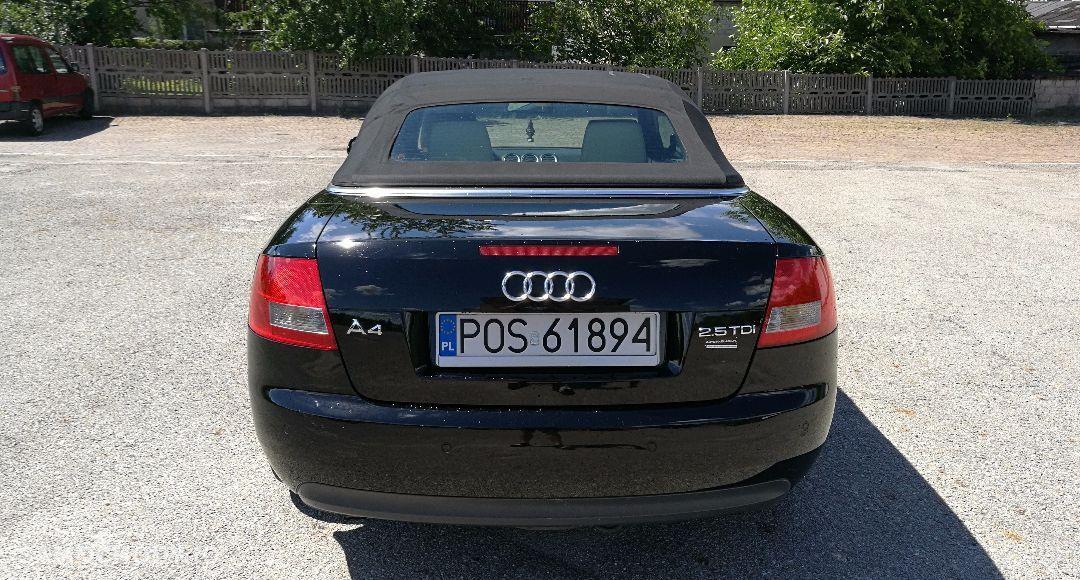 Ogłoszenie Audi A4 25tdi V6 163pscabrioskóra Bananmanual6