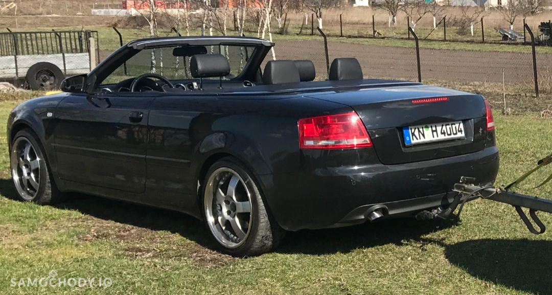 Audi A4 Cabriolet Automat serwisowany bezwypadkowy 2