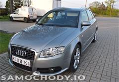 audi z województwa łódzkie Audi A4 2.0 TDI 140KM S LINE, Navi,SuperStan