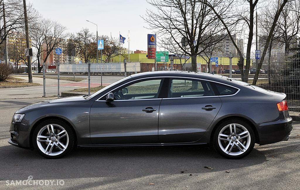 Audi A5 Sportback 2xS Line BangOlufsen Ledy Navi Serwis Zarejestrowany 16