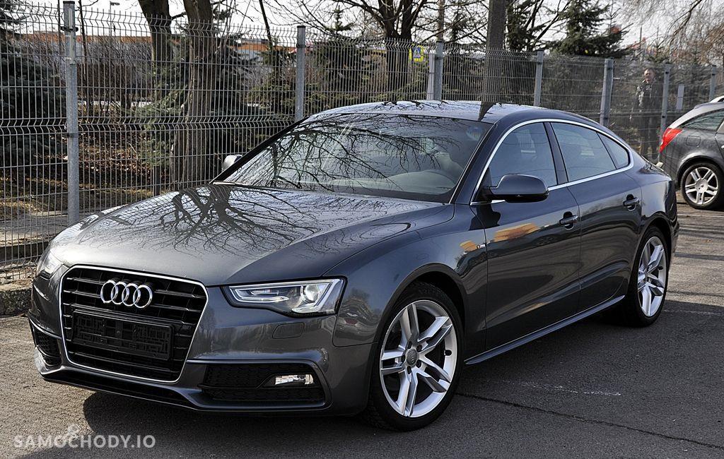 Audi A5 Sportback 2xS Line BangOlufsen Ledy Navi Serwis Zarejestrowany 1