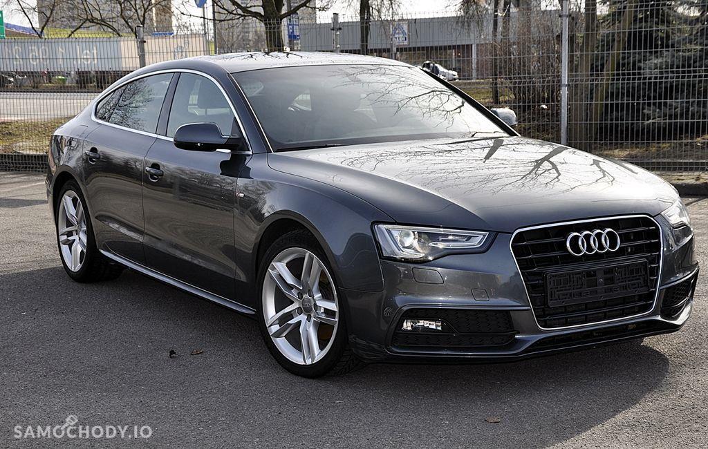 Audi A5 Sportback 2xS Line BangOlufsen Ledy Navi Serwis Zarejestrowany 2