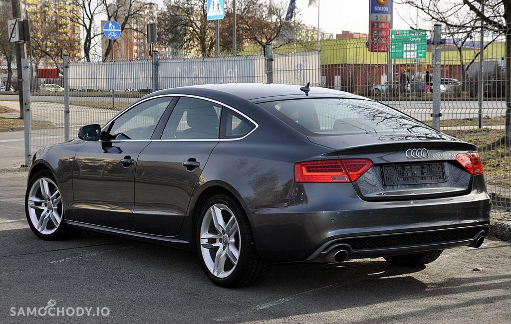Audi A5 Sportback 2xS Line BangOlufsen Ledy Navi Serwis Zarejestrowany 4
