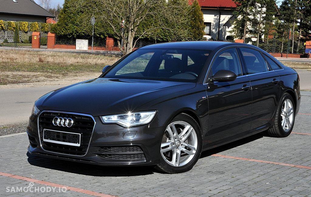 Audi A6 Stan perfekcyjny pełny s line plus model 2015 S Tronik 2
