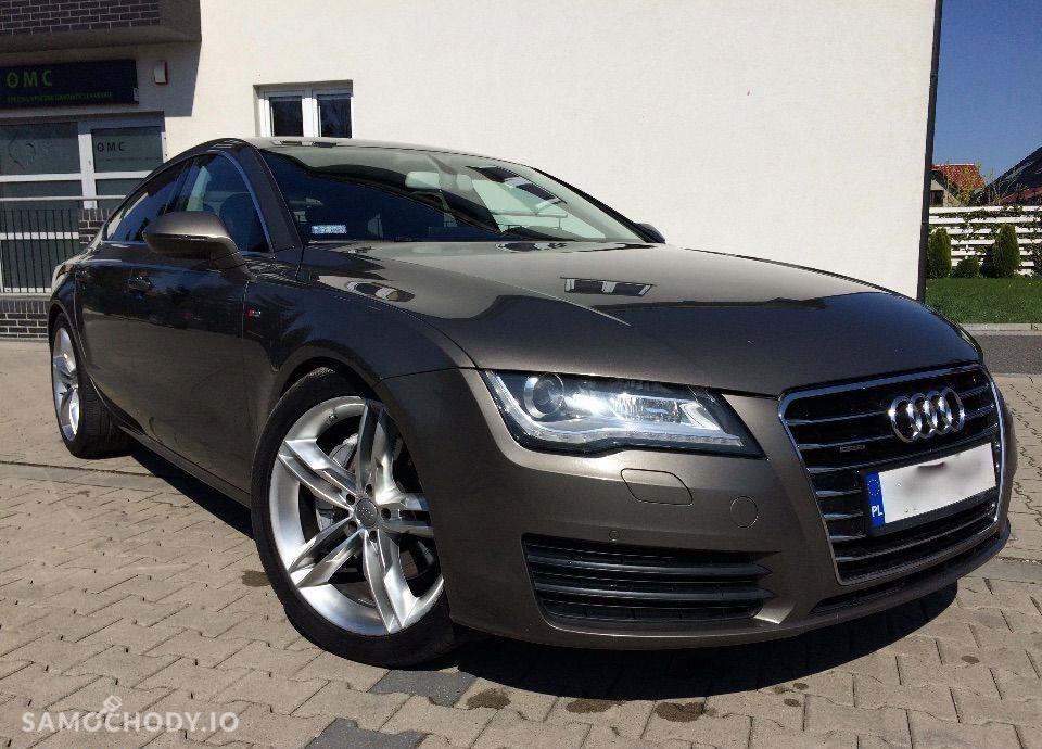 Audi A7 Salon PL Bez wypadkowa Quattro F1 Dociągi 1