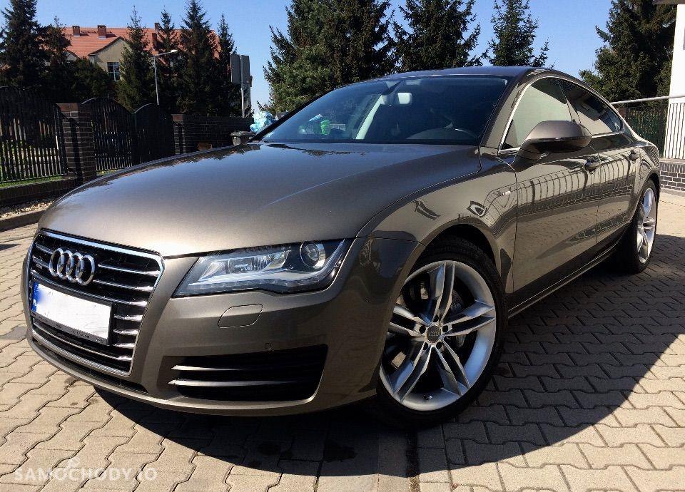 Audi A7 Salon PL Bez wypadkowa Quattro F1 Dociągi 2