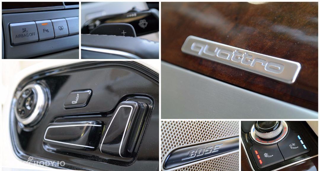 Audi A8 Pełna opcja*4.2*350KM*Nightvision*Quattro*Navi*Kamery 121