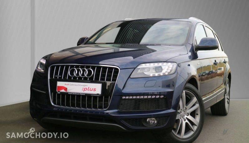 Audi Q7 S line,BOSE,Ogrzewanie postojowe z wentylacją,Komfortowy kluczyk 1