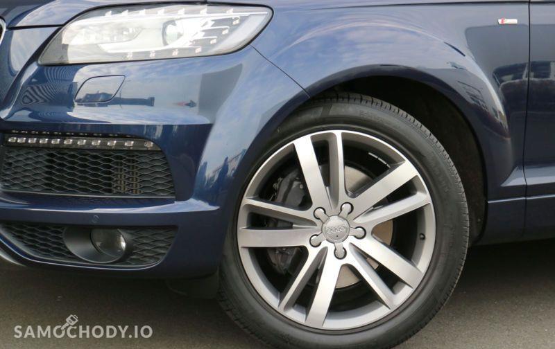 Audi Q7 S line,BOSE,Ogrzewanie postojowe z wentylacją,Komfortowy kluczyk 7