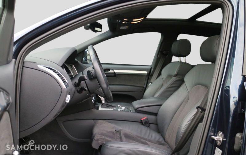 Audi Q7 S line,BOSE,Ogrzewanie postojowe z wentylacją,Komfortowy kluczyk 16