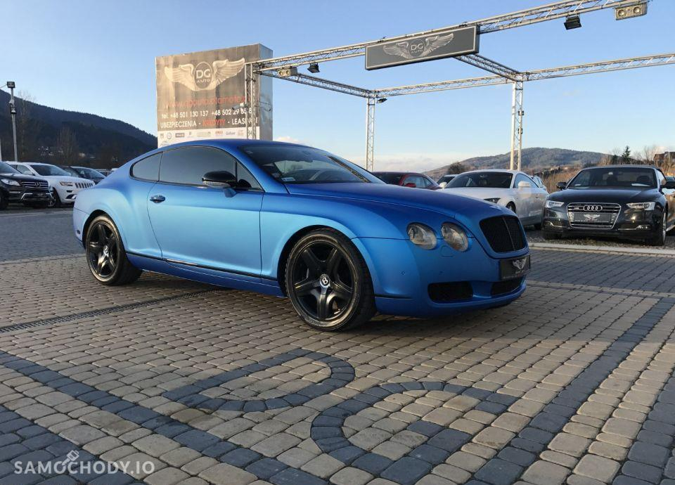 Bentley Continental GT GT Blue Zarejestrowany w Polsce Faktura VAT23% 1