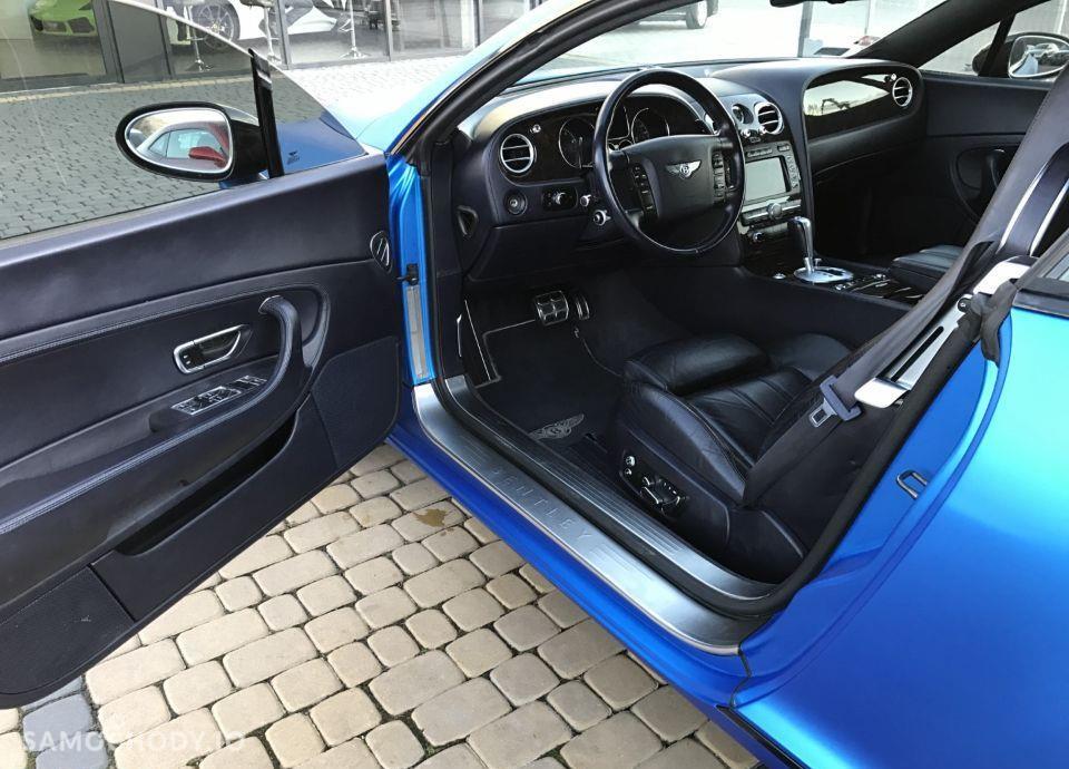 Bentley Continental GT GT Blue Zarejestrowany w Polsce Faktura VAT23% 11