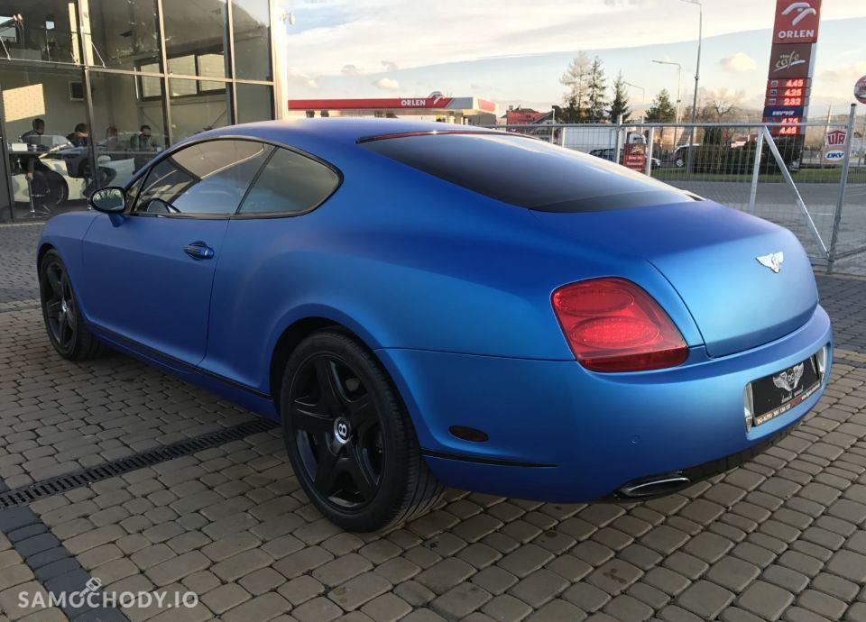 Bentley Continental GT GT Blue Zarejestrowany w Polsce Faktura VAT23% 4