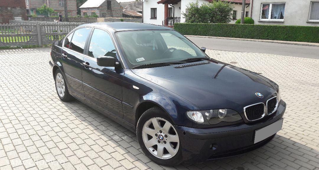 BMW Seria 3 E46 320d 150km Orientblau Chromeline Multifunkcja Climatronic 2