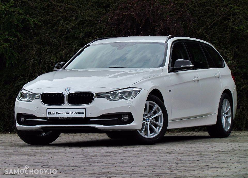 BMW Seria 3 Dealer BMW Sikora BMW 318d Touring 2017 Samochód demonstracyjny 1