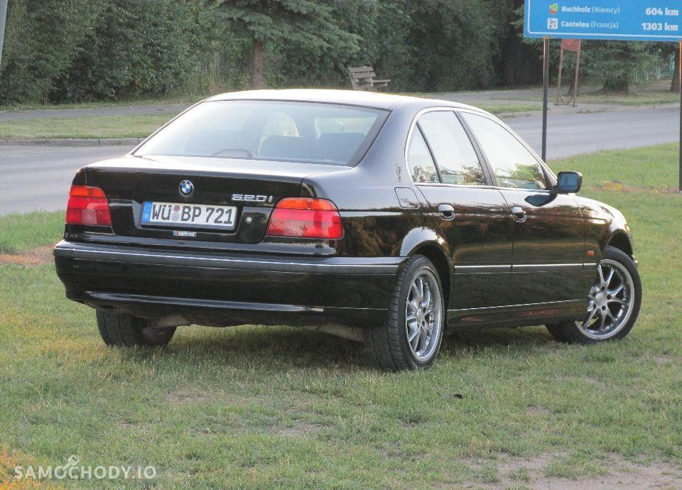 BMW Seria 5 E39 520i MANUAL świeżo sprowadzona 46