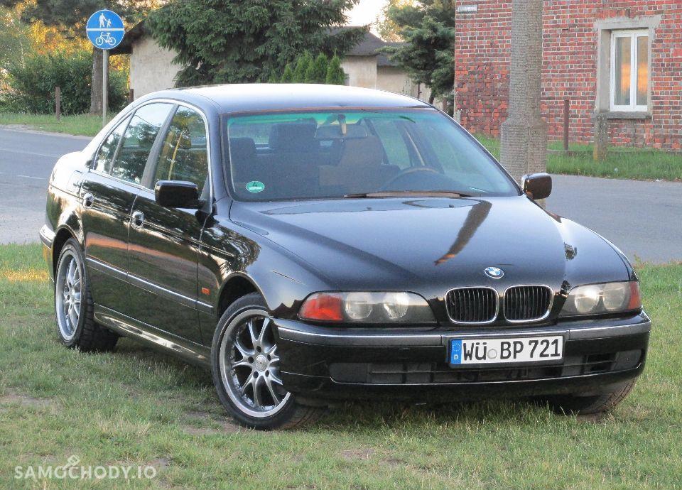 BMW Seria 5 E39 520i MANUAL świeżo sprowadzona 7