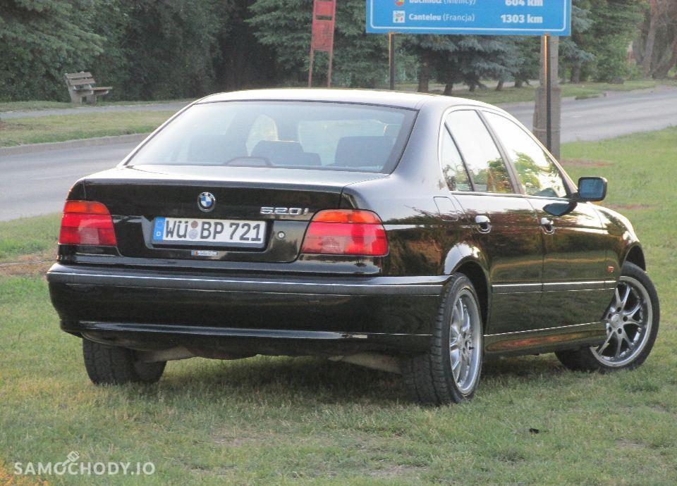 BMW Seria 5 E39 520i MANUAL świeżo sprowadzona 56