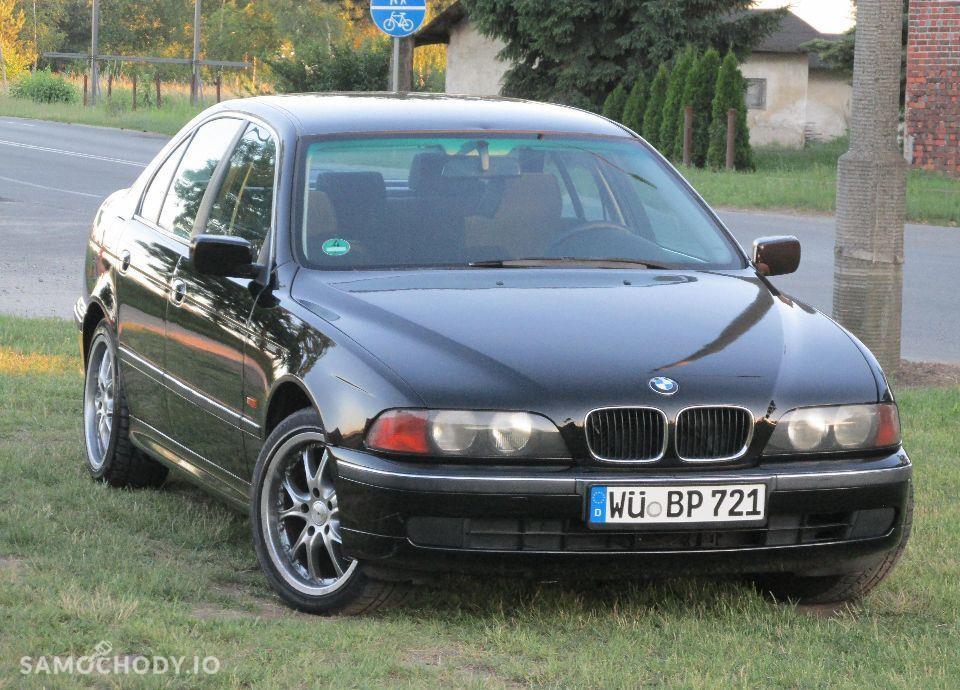 BMW Seria 5 E39 520i MANUAL świeżo sprowadzona 2