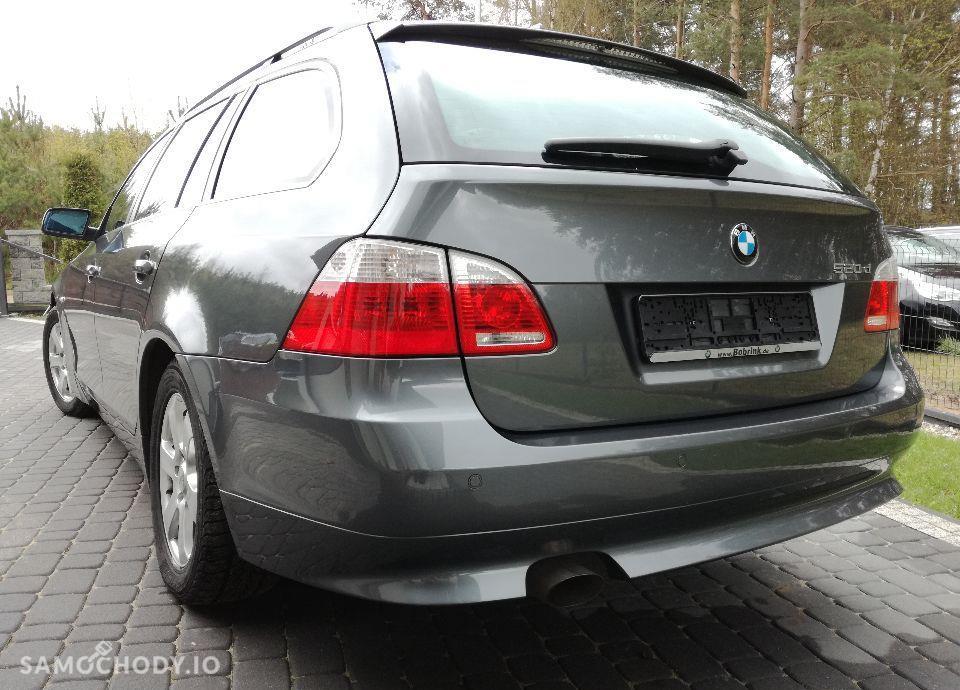 BMW Seria 5 E 61 520 D 163 KM. PANORAMA ! AUTOMAT ! Zadbany ! Pdc ! Klimatronic ! 7