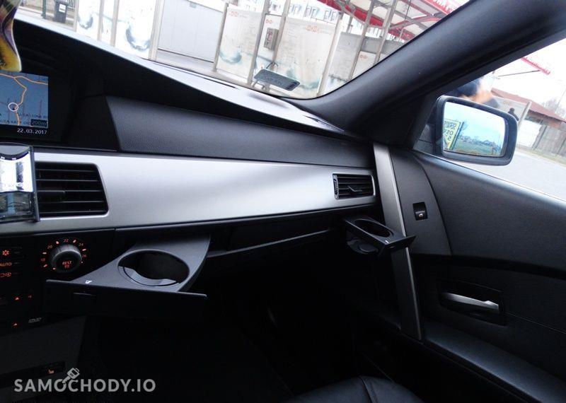 BMW Seria 5 3.0 diesel, kombi, 218 KM, automat, xenon, panorama, nawigacja, skóry. 16