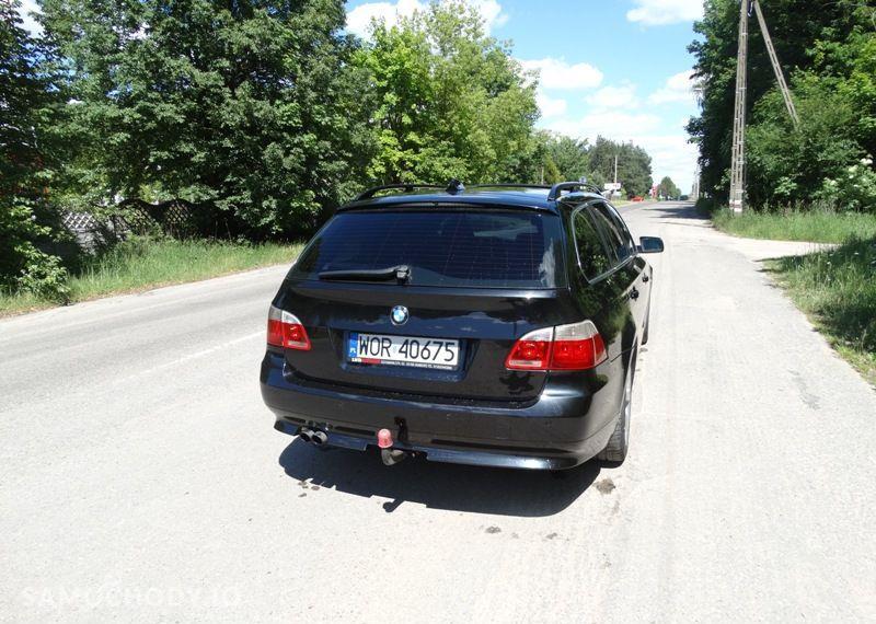 BMW Seria 5 3.0 diesel, kombi, 218 KM, automat, xenon, panorama, nawigacja, skóry. 92