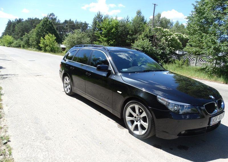 BMW Seria 5 3.0 diesel, kombi, 218 KM, automat, xenon, panorama, nawigacja, skóry. 46