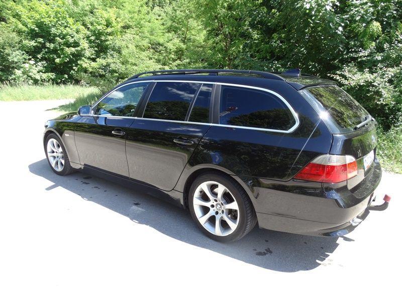 BMW Seria 5 3.0 diesel, kombi, 218 KM, automat, xenon, panorama, nawigacja, skóry. 29