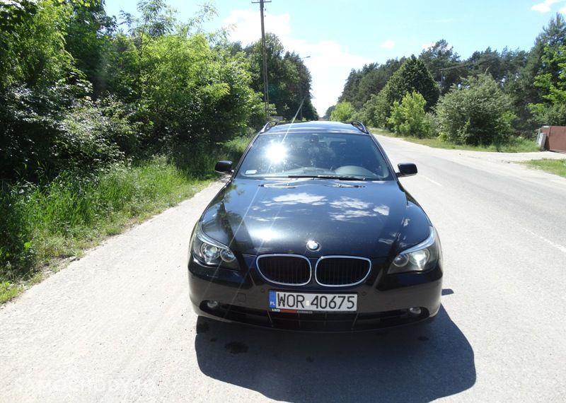 BMW Seria 5 3.0 diesel, kombi, 218 KM, automat, xenon, panorama, nawigacja, skóry. 56