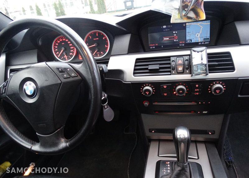 BMW Seria 5 3.0 diesel, kombi, 218 KM, automat, xenon, panorama, nawigacja, skóry. 7