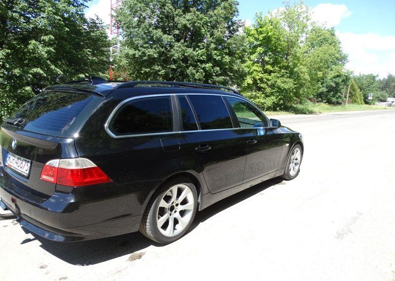 BMW Seria 5 3.0 diesel, kombi, 218 KM, automat, xenon, panorama, nawigacja, skóry. 37