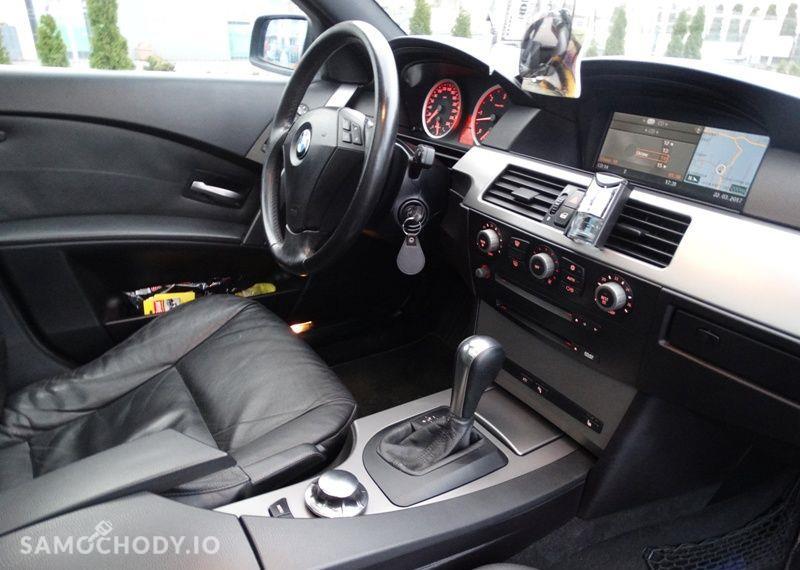 BMW Seria 5 3.0 diesel, kombi, 218 KM, automat, xenon, panorama, nawigacja, skóry. 4