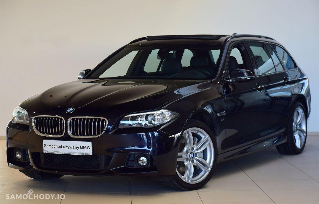 BMW Seria 5 25d, xDrive, M Pakiet, Premium Selection, dealer BMW Dobrzański Kraków 1