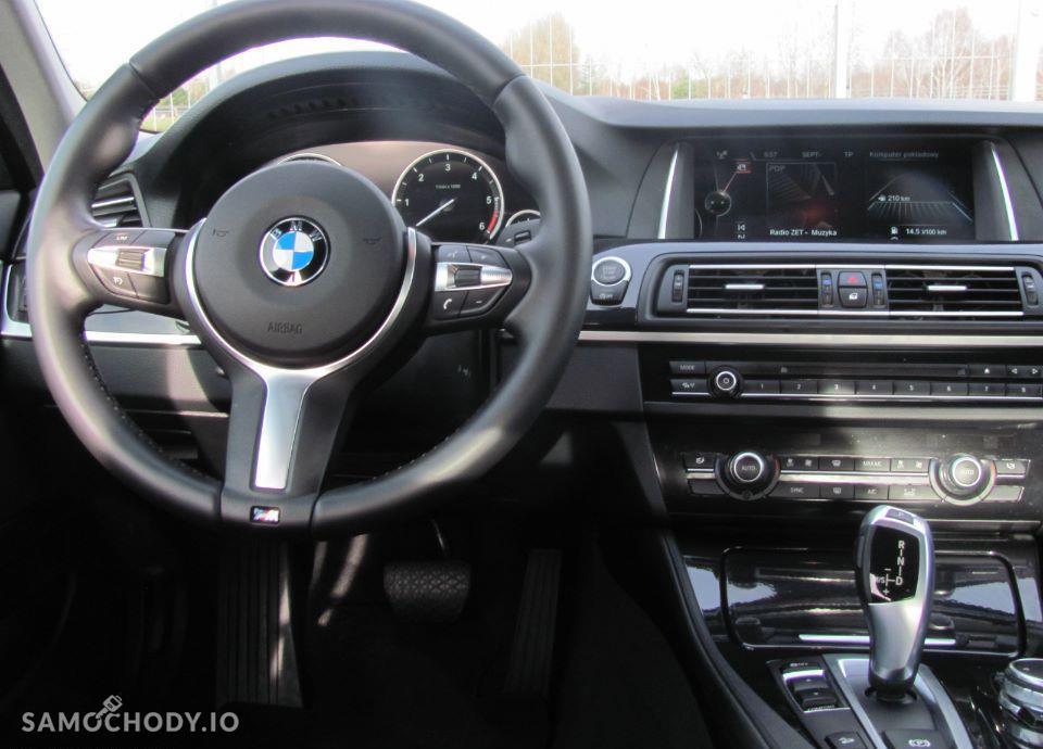 BMW Seria 5 2.0 diesel X Drive 190 KM Gwarancja Salon Polska RABAT WYPRZEDAŻOWY! 4