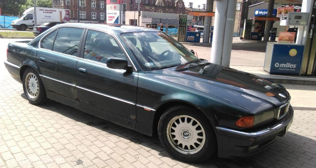 BMW Seria 7 Używane BMW Serii 725 TDS E38 1998 r. 4