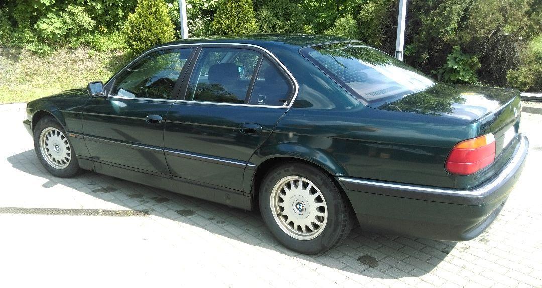 BMW Seria 7 Używane BMW Serii 725 TDS E38 1998 r. 2
