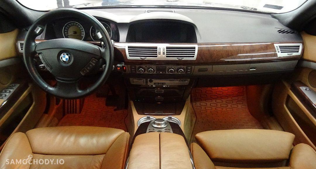 BMW Seria 7 Rata 599zł Salon Samochodowy night vision, Jasne skóry 11