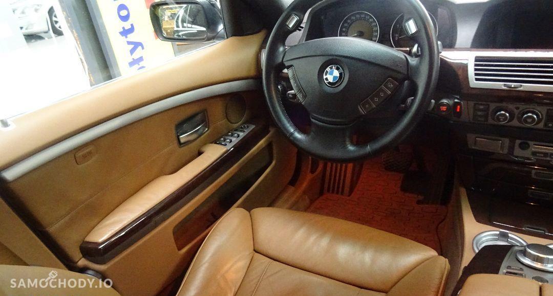 BMW Seria 7 Rata 599zł Salon Samochodowy night vision, Jasne skóry 16